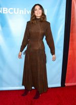 Mandy Moore In Proenza Schouler @ 2020  NBCUniversal  Winter Press  Tour