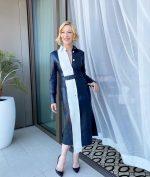 Cate Blanchett In  Rokh Promoting 'Mrs. America'