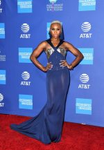 Cynthia Erivo In Schiaparelli  Couture @  2020 Palm Springs International Film Festival Film Awards Gala.