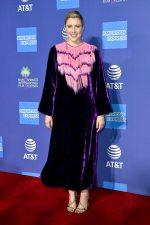 Greta Gerwig In Gucci @ 2020 Palm Springs International Film Festival Film Awards Gala