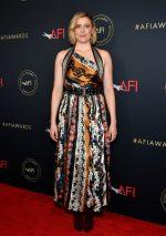 Greta Gerwig  In Oscar De La Renta @ 2020 AFI Awards