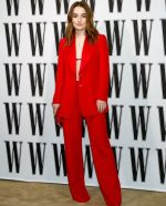 Kaitlyn Dever  In Giorgio Armani @  W Magazine Best Performance Party