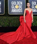 Scarlett Johansson  In Vera Wang  @  2020 Golden Globe Awards