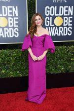 Isla Fisher In Monique Lhuillier @ 2020 Golden Globe Awards