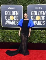 Janina Gavanka In Georges Chakra @ 2020 Golden Globe Awards