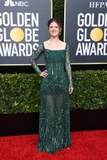 Rose Leslie In Elie Saab @  2020 Golden Globe Awards