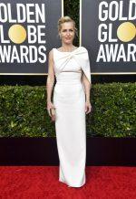 Gillian Anderson In Safiyaa  @ 2020 Golden Globe Awards