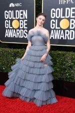 Thomasin McKenzie In Valentino @ 2020 Golden Globe Awards