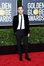 Rami Malek In Saint Laurent @ 2020 Golden Globe Awards.