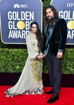 Lisa Bonet & Jason Momoa @  2020 Golden Globe Awards