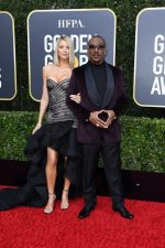 Eddie Murphy  &  Paige Butcher  @ 2020 Golden Globe Awards