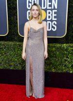 Saoirse Ronan In Celine @  2020 Golden Globe Awards