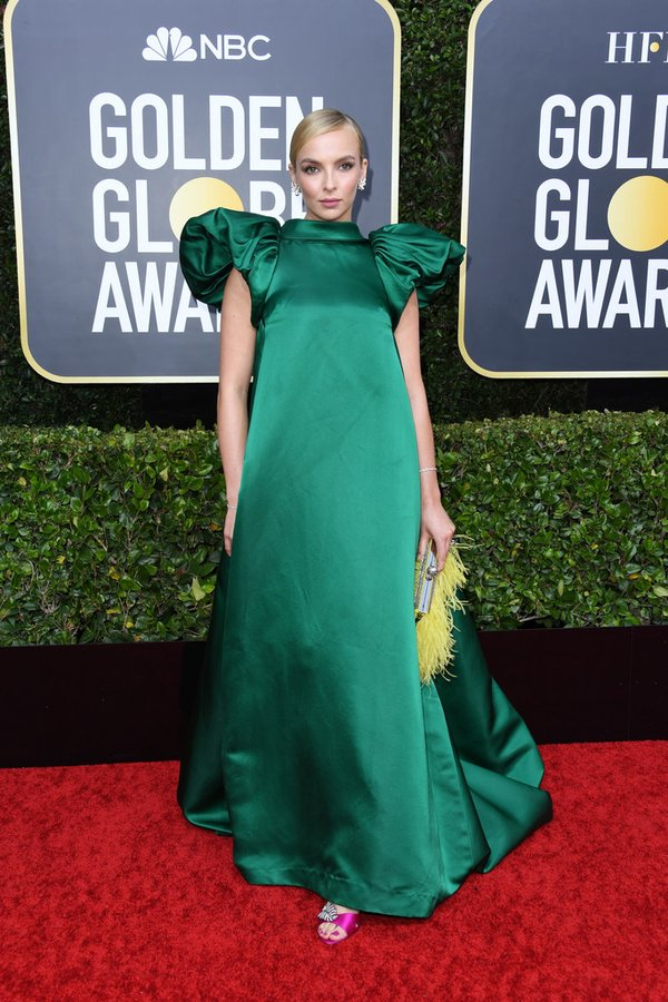 jodie-comer-in-mary-katrantzou-2020-golden-globe-awards
