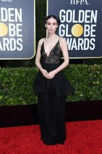 Rooney Mara  In Givenchy  @  2020 Golden Globe Awards