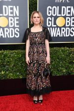 Anna Paquin  In Christian Dior @ 2020 Golden Globe Awards