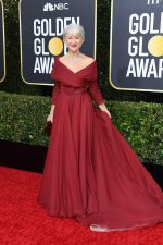 Helen Mirren  In Christian Dior Haute Couture @ 2020 Golden Globe Awards