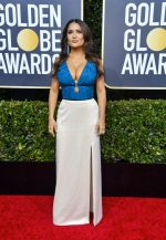 Salma Hayek In Gucci  @  2020 Golden Globe Award