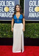 Salma Hayek In Gucci  @  2020 Golden Globe Award