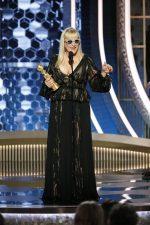Patricia Arquette  In J .Mendel @  2020 Golden Globe Awards
