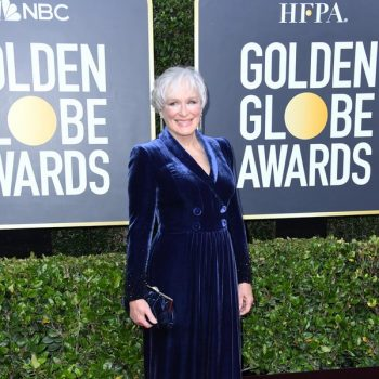 glenn-close-in-armani-prive-2020-golden-globe-awards