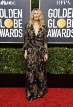 Laura Dern In Saint Laurent @ 2020 Golden Globe Awards