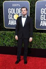 Leonardo DiCaprio  In Giorgio Armani @  2020 Golden Globe Awards