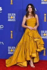 Sandra Bullock  In Oscar De La Renta  @  2020 Golden Globe Awards