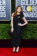 Natasha Lyonne  In Moschino @ 2020 Golden Globe Awards