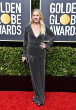 Christina Applegate  In Pamella Roland @ 2020 Golden Globe Awards