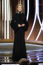 Annette Bening  In Christian Siriano  @ 2020 Golden Globe Awards