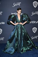 Sofia Carson In Elie Saab @ 2020 InStyle And Warner Bros. Golden Globe Awards After-Party