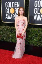 Jane Levy In Steven Khalil @  2020 Golden Globe Awards