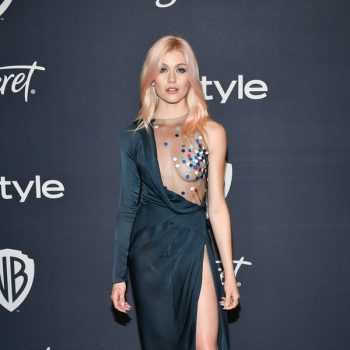 katherine-mcnamara-in-ulyana-sergeenko-2020-instyle-and-warner-bros-golden-globe-awards-after-party