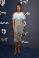 Kiki Layne In  Julien X Gabriela @ 2020 InStyle And Warner Bros. Golden Globe Awards After-Party