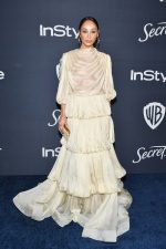 Cara Santana  In Cong Tri   @ 2020 InStyle And Warner Bros. Golden Globe Awards After-Party