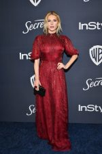 Katheryn Winnick In J.Mendel @  2020 Warner Bros. / InStyle Golden Globe Awards After Party
