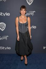 Adria Arjona In Brock Collection @ 2020 Warner Bros. / InStyle Golden Globe Awards After Party