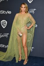 Jasmine Sanders In Georges Hobeika @ 2020 InStyle And Warner Bros. Golden Globe Awards After-Party