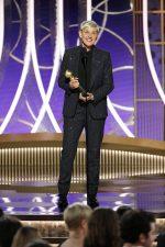 Ellen DeGeneres In Celine @ 2020 Golden Globe Awards