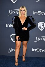 Bebe Rexha In  Yanina Couture  @  2020 InStyle And Warner Bros. Golden Globe Awards After-Party