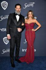 Joe Manganiello & Sofia Vergara In Dolce Gabbana @ 2020 InStyle & Warner Bros. Golden Globe Awards After-Party