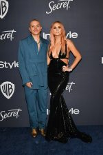 Ashlee Simpson Ross & Evan Ross @ 2020 InStyle & Warner Bros. Golden Globe Awards After-Party