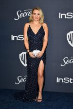Emily Osment In Jovani @ 2020 Warner Bros. / InStyle Golden Globe Awards After Party