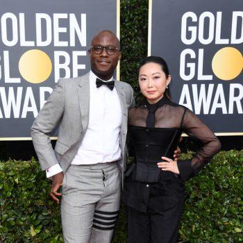 barry-jenkins-lulu-wang-in-thom-browne-2020-golden-globe-awards