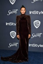 Kat Graham In Etro  @ 2020 InStyle And Warner Bros. Golden Globe Awards After-Party