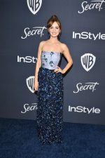Ahna O'Reilly  In Armani @ 2020 Warner Bros. / InStyle Golden Globe Awards After Party