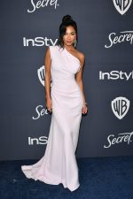 Nicole Scherzinger In Maticevski @ 2020 InStyle And Warner Bros. Golden Globe Awards After-Party
