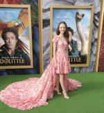 Carmel Laniado In  Giambattista Valli @  'Dolittle' LA Premiere