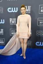 Kennedy McMann  In Georges Chakra  Couture @ 2020  Critics Choice  Awards
