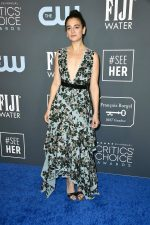 Jenny Slate In  Mulberry  @ 2020 Critics' Choice Awards